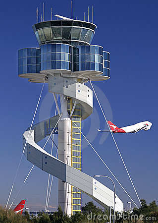 Free Sydney Airport Tower Stock Photography - 7238422
