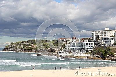 Landscape Bondi beach Sydney Editorial Image