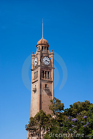 Free Sydney Central Station Clock Tower Stock Photo - 22916020