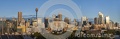 Sydney City Scape Editorial Image