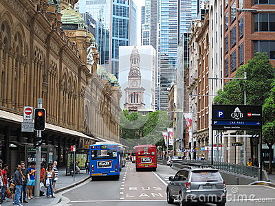 Sydney city scene Editorial Photo