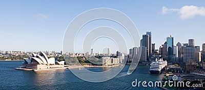 Sydney City Skyline Editorial Photo
