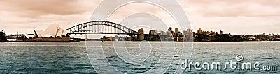 Sydney cityscape Editorial Photo