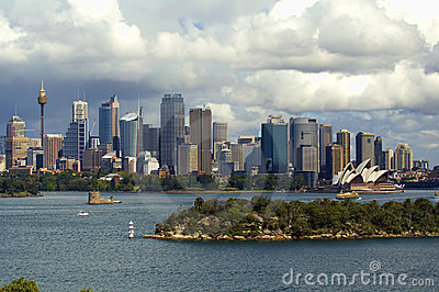 Sydney Coastline, cityscape Editorial Photo