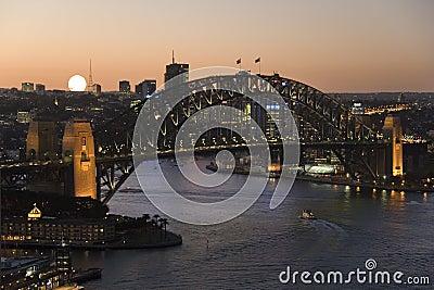 Sydney Harbor Bridge - Australia Editorial Photography