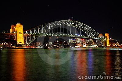 Sydney Harbour Bridge Editorial Stock Image
