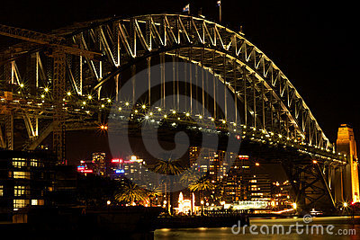 Sydney Harbour Bridge Editorial Stock Photo