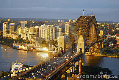Sydney Harbour Bridge Editorial Image
