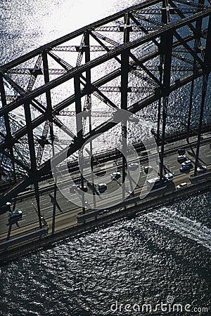 Sydney Harbour Bridge.
