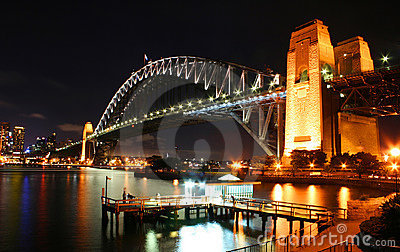Sydney Harbour Bridge, Australia Stock Images - Image: 10224244