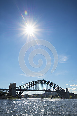 Sydney harbour bridge in australia Editorial Photography