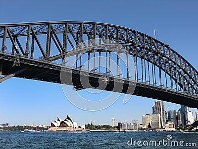 Sydney Harbour Bridge Editorial Photography