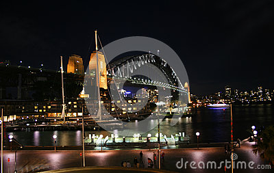 Sydney Harbour Bridge de las rocas, Sydney