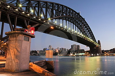 Sydney Harbour Bridge at first light