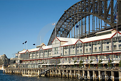 Sydney Harbour Bridge & Luxury Hotel