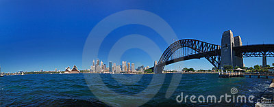 Sydney Harbour Bridge Panorama