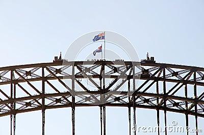 Sydney Harbour Bridge walking