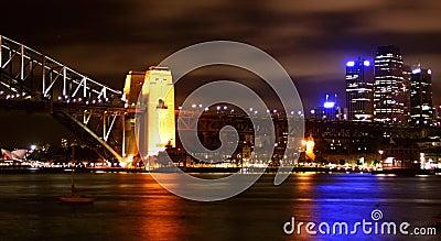 Sydney Harbour lights, Australia