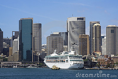 Sydney harbour quay crop