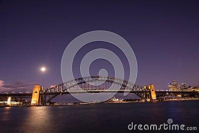 Sydney - Night City Skyline