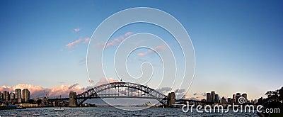 Sydney - Night Skyline Panorama