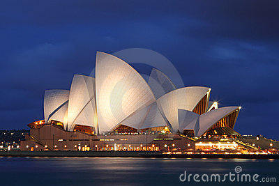 Sydney Opera House Editorial Photo