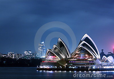 Sydney Opera House Editorial Photography