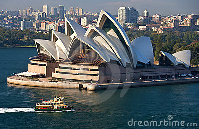 Sydney Opera House - Australia Editorial Stock Photo