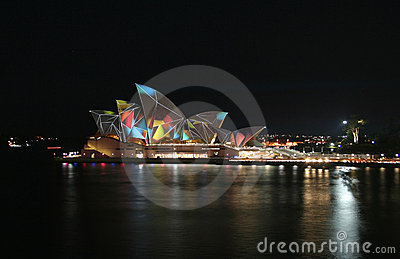 Sydney Opera House, Australia Editorial Stock Photo