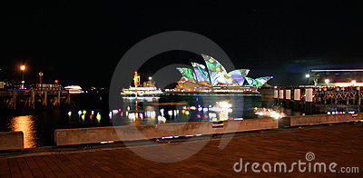 Sydney Opera House, Australia from Circular Quay Editorial Stock Photo