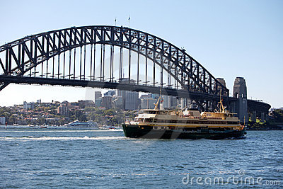 Sydney Opera House and bridge, Australia