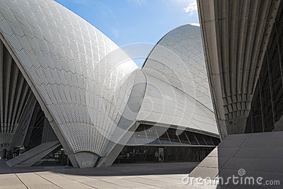Sydney opera house detail in australia Editorial Photography