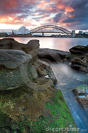 Sydney Opera House And Harbour Bridge Stock Photography - Image: 19881602