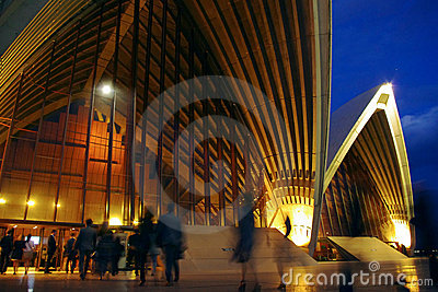 Sydney Opera House Show Time Editorial Photo