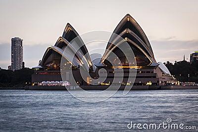 Sydney Opera House Editorial Stock Image