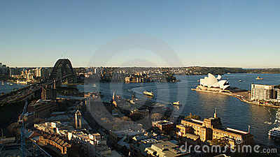 Sydney Skyline Editorial Image