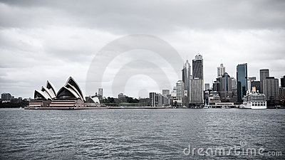 Sydney skyline Editorial Stock Photo