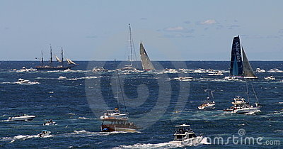 Sydney to Hobart Yacht Race. Sydney, Australia Editorial Stock Image