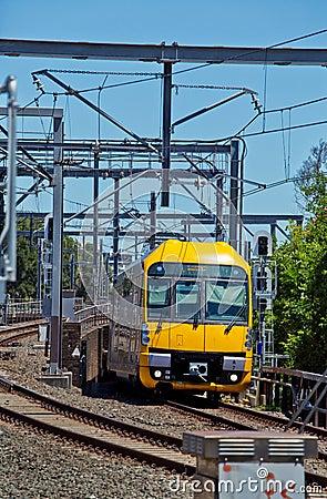 Free Sydney Train Royalty Free Stock Photography - 46543547