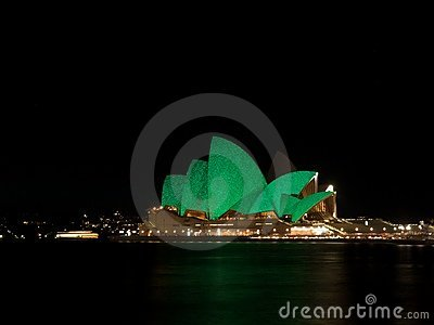 Sydney Vivid festival Editorial Photography