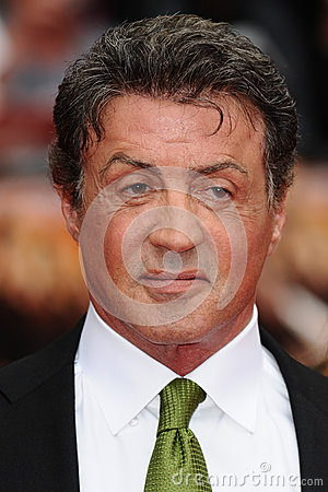 Sylvester Stallone Editorial Photo