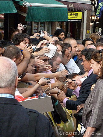 Sylvester Stallone At The Expendables Premiere Editorial Stock Photo
