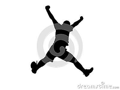 Sylwetka jumping