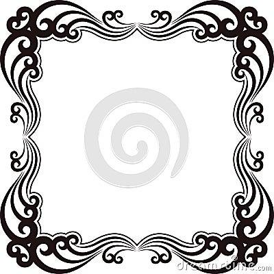 Ornamentacyjna rama