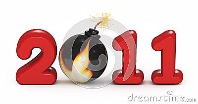Symbol of 2011 year