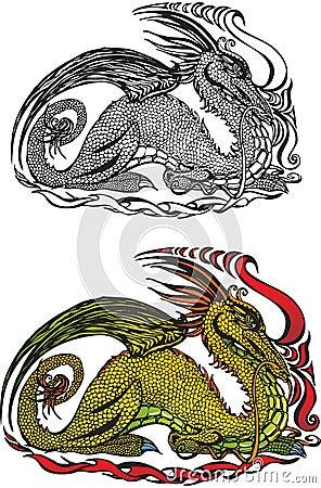 Symbol 2012 dragon