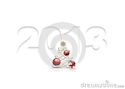 Symbol of 2013 year