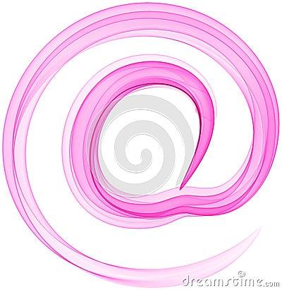 AT symbol.