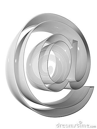 Symbol 3D 009 grey