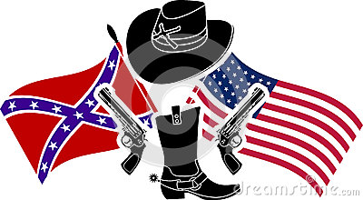 Symbol of american civil war